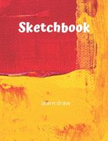 Sketchbook: Challenge Techniques, with prompt Creativity Pro Drawing Writing Sketching 150 Pages: Sketchbook Creativity With This Primary Love and Write Drawing of cartoon sketch 1677686448 Book Cover