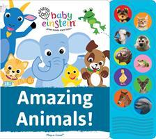 Amazing Animals!: Play-a-Sound (Baby Einstein)
