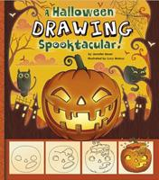 A Halloween Drawing Spooktacular!: A Step-By-Step Sketchpad 1476530912 Book Cover