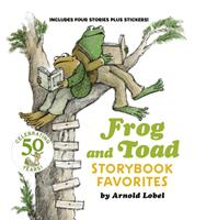 Frog and Toad Storybook Favorites: Includes 4 Stories Plus Stickers! 0062883127 Book Cover