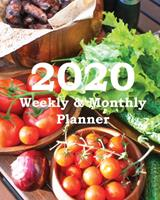 2020 Weekly & Monthly Planner: Planners and Organizers (Cold Climate Gardening Cover) 1673758134 Book Cover
