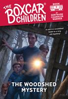 The Woodshed Mystery 0590426931 Book Cover