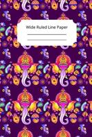 Hindu Art Inspirational, Motivational and Spiritual Theme Wide Ruled Line Paper 1676502661 Book Cover