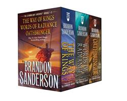 Stormlight Archive MM Boxed Set I, books 1-3 (The Stormlight Archive) 1250776635 Book Cover