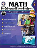 Math for College and Career Readiness, Grade 7: Preparation and Practice 1622235843 Book Cover