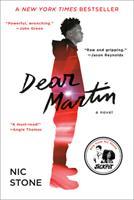 Dear Martin 1101939524 Book Cover
