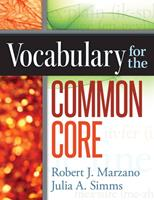 Vocabulary for the Common Core 0985890223 Book Cover