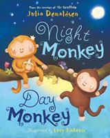 Night Monkey, Day Monkey 1405283343 Book Cover