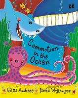 Commotion in the Ocean (Picture Books) 0439082145 Book Cover