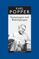 Karl R. Popper-Gesammelte Werke: Band 10: Vermutungen Und Widerlegungen. Das Wachstum Der Wissenschaftlichen Erkenntnis 3161501977 Book Cover