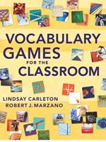 Vocabulary Games for the Classroom 0982259263 Book Cover