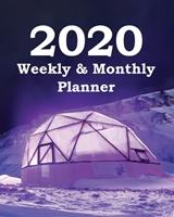 2020 Weekly & Monthly Planner: Planners and Organizers (Hydroponics Growing Systems Cover) 167376228X Book Cover