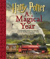 Harry Potter: A Magical Year -- The Illustrations of Jim Kay 1338809970 Book Cover