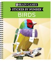 Brain Games - Sticker by Number: Birds (42 Images) 1645585883 Book Cover