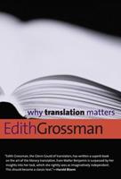 Why Translation Matters 0300171307 Book Cover