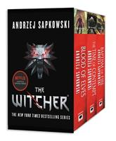 The Witcher Boxed Set: Blood of Elves, The Time of Contempt, Baptism of Fire 0316438979 Book Cover