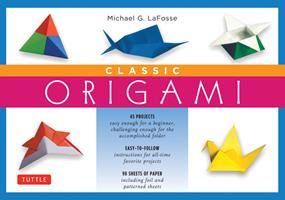 Classic Origami (Kit with Book & Paper) (Crafts) 0804835284 Book Cover
