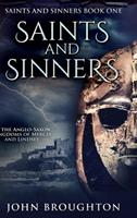 Saints And Sinners: Large Print Hardcover Edition 1034440985 Book Cover