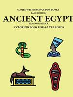 Coloring Book for 4-5 Year Olds (Ancient Egypt) 0244561931 Book Cover