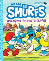 We Are the Smurfs: Welcome to Our Village! 1419755374 Book Cover