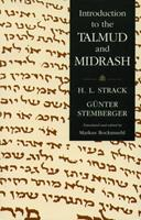 Introduction to the Talmud and Midrash 0800625242 Book Cover