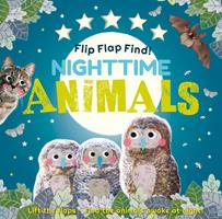 Flip Flap Find Nighttime Animals 0744034922 Book Cover