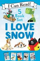 I Love Snow: I Can Read 5-Book Box Set - Celebrate the Season by Snuggling Up with 5 Snowy I Can Read Stories! 0062891146 Book Cover