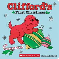 Clifford's First Christmas 0590484206 Book Cover