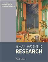 Real World Research: A Resource for Users of Social Research Methods in Applied Settings 111874523X Book Cover