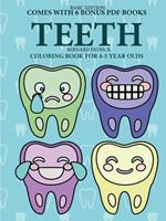 Coloring Book for 4-5 Year Olds (Teeth) 0244861900 Book Cover