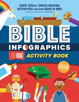 Bible Infographics for Kids Activity Book: Over 100-ish Craze-Mazing Activities for Kids Ages 9 to 969 0736982221 Book Cover