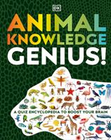 Animal Knowledge Genius: A Quiz Encyclopedia to Boost Your Brain 0744039592 Book Cover