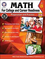 Math for College and Career Readiness, Grade 8: Preparation and Practice 1622235851 Book Cover