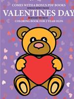 Coloring Books for 2 Year Olds (Valentines Day) 0244861862 Book Cover