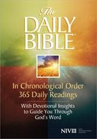 Holy Bible: Daily Bible NIV 0890817596 Book Cover