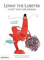 Lenny the Lobster Can't Stay for Dinner 0714878642 Book Cover