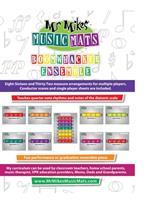 Boomwhacker Ensemble: MrMikesMusicMats 1087430143 Book Cover