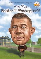 Who Was Booker T. Washington? 0448488515 Book Cover