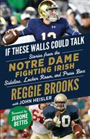 If These Walls Could Talk: Notre Dame Fighting Irish: Stories from the Notre Dame Fighting Irish Sideline, Locker Room, and Press Box 1629378534 Book Cover