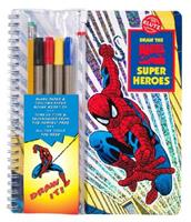 You Can Draw Marvel Characters 0756614708 Book Cover