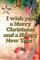 I wish you a merry christmas and a happy new year notebook gift for women: Journal with blank Lined pages for journaling, note taking and jotting down ideas and thoughts 1671066731 Book Cover