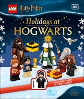 Lego Harry Potter Holidays at Hogwarts: With Lego Harry Potter Minifigure in Yule Ball Robes 0744040124 Book Cover