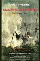 Jules Verne: Five Complete Novels (Twenty Thousand Leagues Under the Sea, Journey to the Center of the Earth, From the Earth to the Moon, Round the Moon, Around the World in Eighty Days) 1438432380 Book Cover