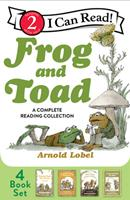 Frog and Toad: A Complete Reading Collection: Frog and Toad All Year, Frog and Toad Are Friends, Frog and Toad Together, Days with Frog and Toad 0062983423 Book Cover