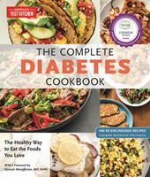 The Complete Diabetes Cookbook: The Healthy Way to Eat the Foods You Love 1945256583 Book Cover