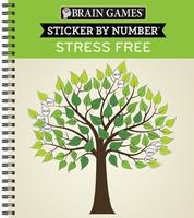 Brain Games - Sticker by Number: Stress Free 1645580768 Book Cover