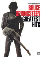 Bruce Springsteen's Greatest Hits (Authentic Guitar-Tab) B00CWECRXU Book Cover