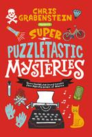 Super Puzzletastic Mysteries: Short Stories for Young Sleuths fromMystery Writers of America 0062884204 Book Cover