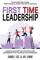 First Time Leadership 1922461202 Book Cover