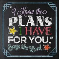 """""""I Know the Plans I Have for You,"""" Says the Lord 0736964061 Book Cover"""